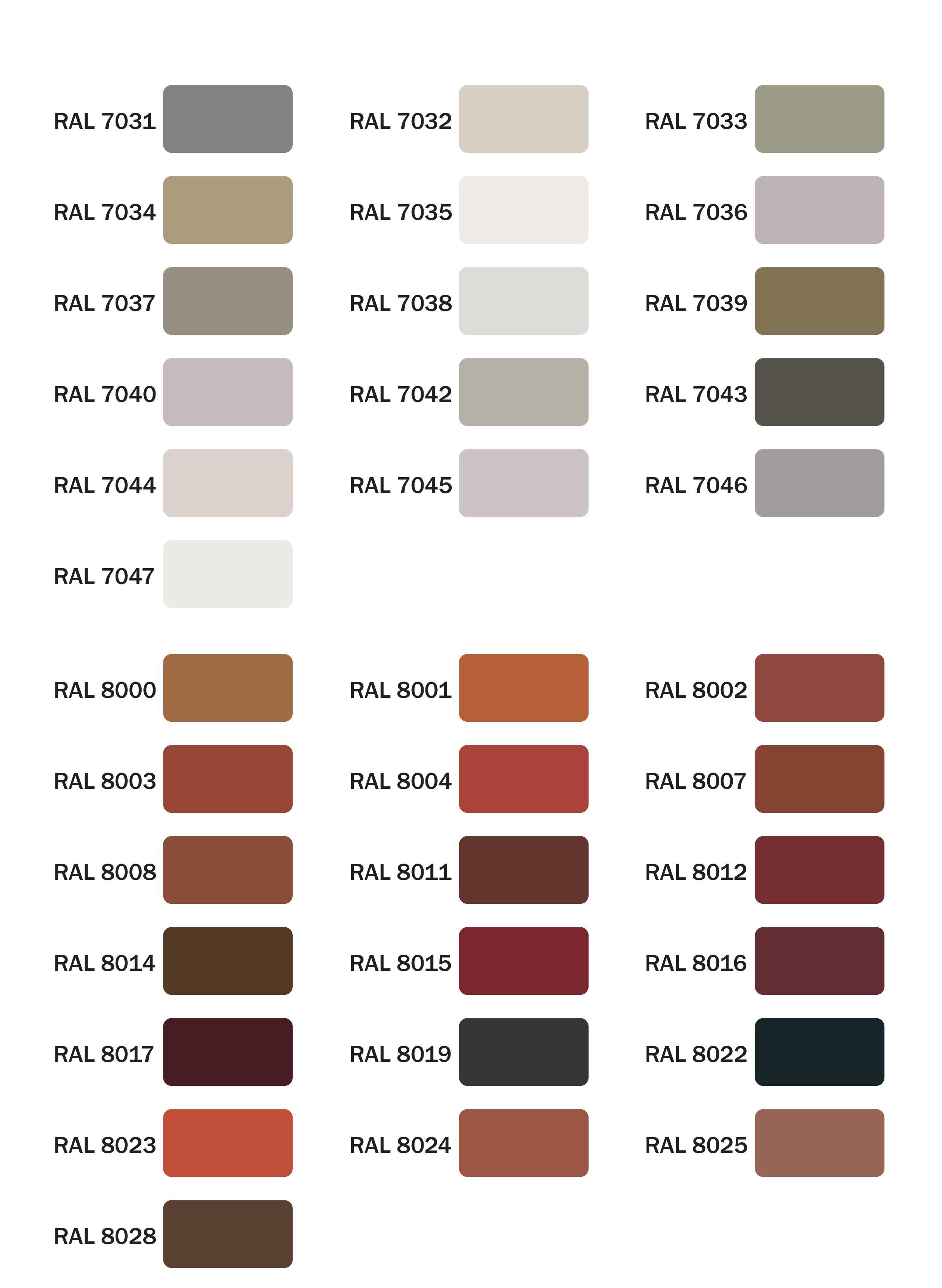 Zupełnie nowe Pełna gama, wzornik kolorów RAL - RDD KT92